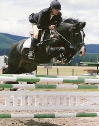 C. Zibu and Job Bruins at Taupo, photo by Barbara Thompson